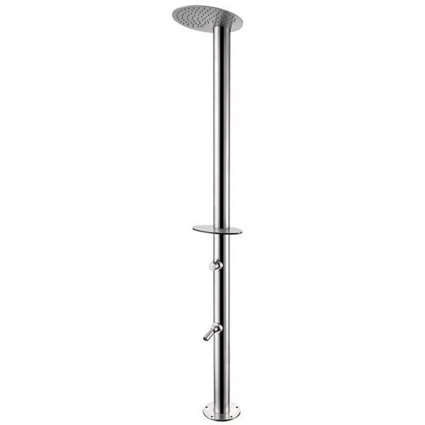 Picture of shower column  outside INOX