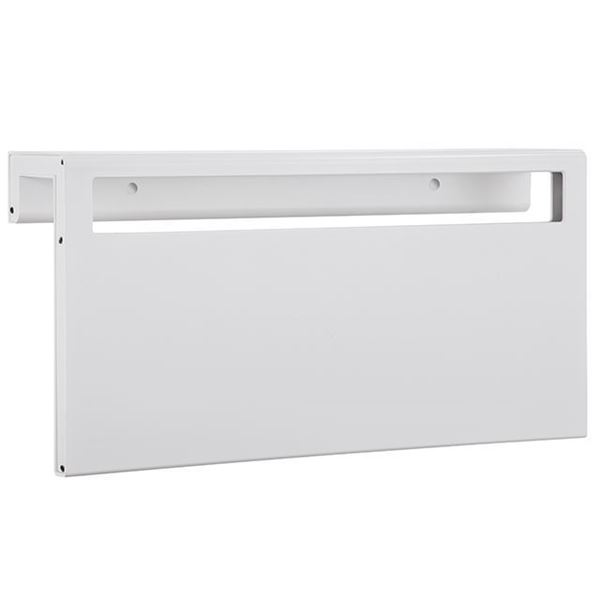 Picture of White heated towel rack