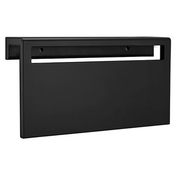 Picture of Black heated towel rack