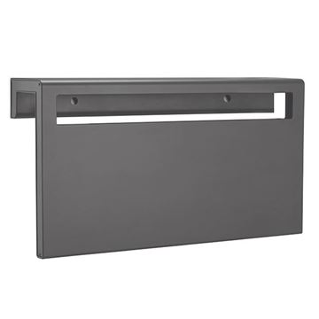 Picture of Grey heated towel rack