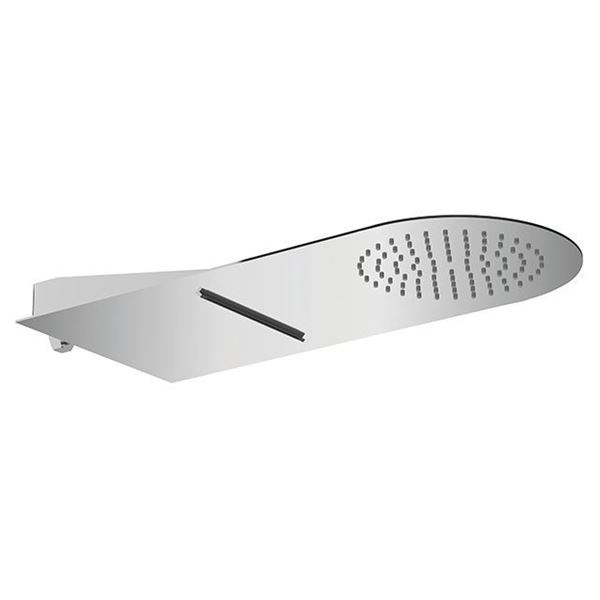 Picture of Wall-mounted SS304 shower head with waterfall