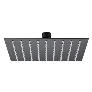Picture of SS304 shower head square 200mm x 200mm Matt black