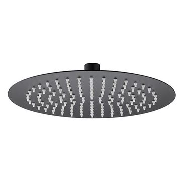 Picture of SS304 shower head round 250mm x 250mm Matt black