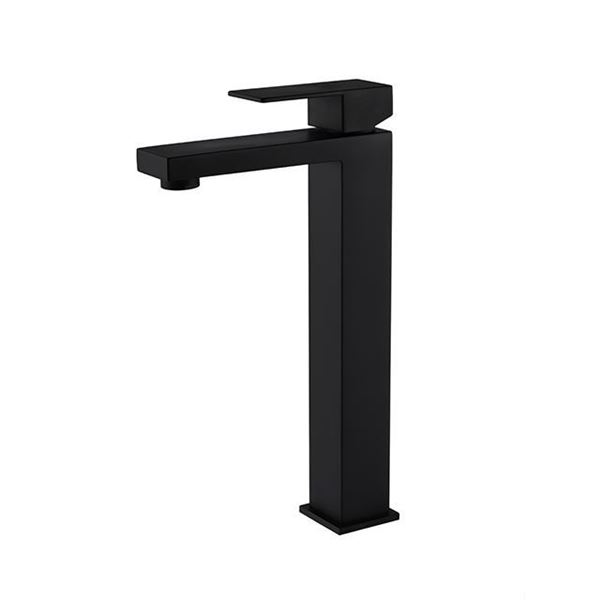 Picture of Basin black mixer for free-standing basins